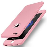 360° Full Body Silicone Hybrid Shockproof Armor Case Cover for iPhone X 8 Plus