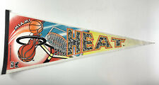 Vintage Miami Heat 1994 NBA Basketball Pennant Trench MFG South Beach