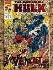 THE INCREDIBLE HULK VS. VENOM #1 VF/NM 9.0 / MARVEL COMIC