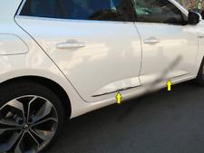 2015Up Renault Megane IV Saloon Chrome Side Door Streamer 4Door 4Pcs S.Steel