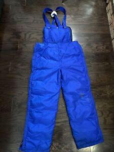 Vintage 70s 80s Blue Snow Snowmobile Ski Snowboard Bibs Pants Mens Size Large