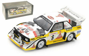 Spark S5191 Audi Sport Quattro S1 E2 Monte Carlo 1986 - Hannu Mikkola 1/43 Scale