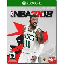 Microsoft Xbox One NBA 2K18 2017 Brand New Sealed Kyrie Irving Basketball Player