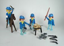 Vintage Playmobil~US Cavalry 3244 3180~Western Horse~Fort Union Glory Randall