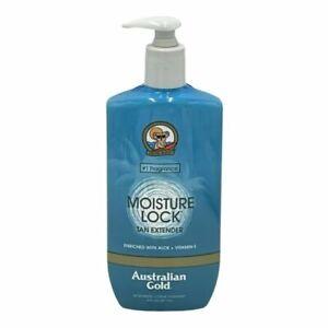 LOT OF 2---Australian Gold Moisture Lock Tan Extender Lotion - 16 oz