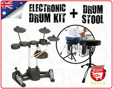 Electronic Drumkit TD36 + Drum Stool Bundle Drums Digital Full Kit AUX Headphone