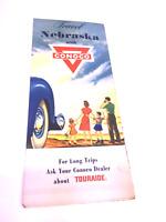 Vintage 1957 Nebraska Conoco Road Map