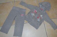 VERTBAUDET => Jogging Veste + pantalon pantacourt gris molleton 3 ans Mel2