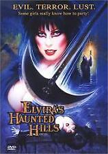 ELVIRAS HAUNTED HILLS DVD