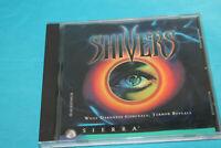 1995 Vintage Shivers PC Computer Game CD-Rom RARE Windows Sierra Adventure Detec