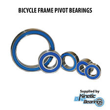 BICYCLE FRAME PIVOT BEARINGS (Max Complement, Bike, Full Suspension)