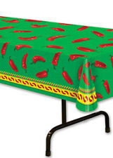 Mexican Party Chilli Pepper plastique Tablecover