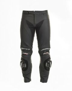 RST 1444 Tractech Evo 2 Motorcycle Motorbike  Leather Armoured Trousers - Black