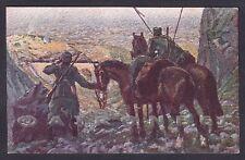MILITARE 1a GUERRA 382 CARSO - CROCE ROSSA - Ill. TOMMASO CASCELLA Cartolina