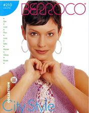 Berroco Knitting Pattern Book #210 City Style - 10 Designs for Women
