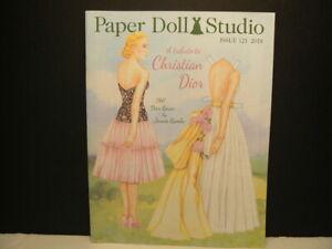 "Paper Doll Studio Magazine, ""Christian Dior"", 2018, Issue #121, Light Use"