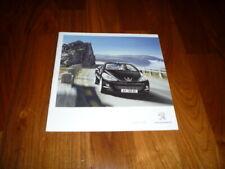 Peugeot 207 CC Prospekt 11/2012 China