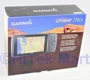Garmin GPSMAP276CX All Terrain GPS Navigator NEW IN BOX