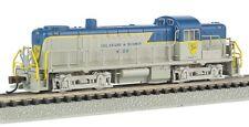 Bachmann N Scale Alco RS-3 Diesel Locomotive w/ DCC. Delaware & Hudson. NEW!