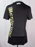 Conor McGregor Women's M Replica Fighter Kit Jersey MMA Reebok Black No Patch