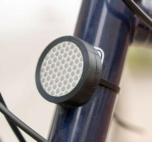 Fahrrad Reflektor Einhausung für Apple Airtag | Halterung Halter Bike Bracket