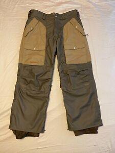 Burton Sherpa-Lined Snowboard Pants Mens XL