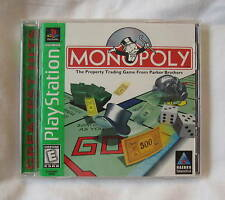 Monopoly (PlayStation PS1) GH Greatest Hits Complete LN Perfect Condition Mint!