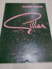 IAN GILLAN 1980 GLORY ROAD TOUR PROGRAMME BLACK SABBATH DEEP PURPLE ROGER GLOVER