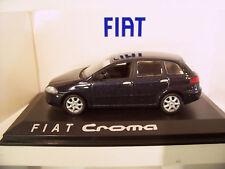 FIAT CROMA bleu echelle 1/43 fabric NOREV 771048 voiture miniature de collection