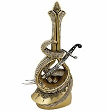 Islamic Home Table Decor Ramadan Eid Gift Hazrat Ali's Sword - Gold