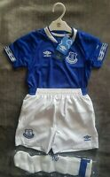 EVERTON Football Club Home Kit Including Socks Boys Girls Ages 4-5