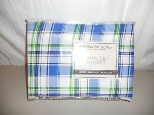 Essentials Collection Twin Sheet Set -brushed microfiber