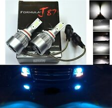 LED Kit C6 72W 9005 HB3 10000K Blue Two Bulbs Head Light Dual Beam Replacement