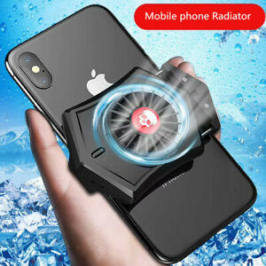 Mobile phone radiator portable phone gaming cooling pad mini fan design for game