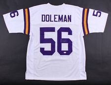 "Chris Doleman Signed Vikings Jersey Inscribed ""HOF 12"" (JSA) 8X Pro Bowl D.E."