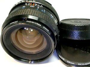 Kiron 28mm f2.0 Lens For Nikon F manual Focus Ai f2 fast prime wide angle