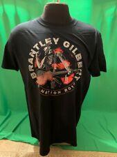 Brantley Gilbert Bg Nation 2019 Fan Club Photo Black T-Shirt Large