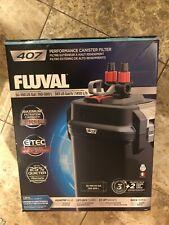 Fluval 407 External Power Filter Includes Media Aquarium Fish Tank