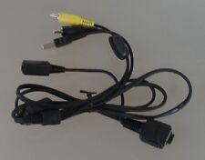 Original Sony mehrzweckanschluß USB/AV câble vmc-md1 avec DC IN-Port