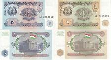 TAJIKISTAN 1 5 RUBLI 1994 FDS UNC EX URSS CCCP