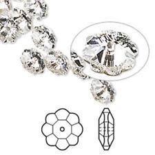 7449 Swarovski Lochrose Marguerite Flower Bead Crystal Foil  6mm PK12  *UK SHOP*