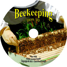 201 Beekeeping Books on DVD Honey Bees Wax Apiculture Apiary Hives Bee Beekeeper
