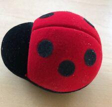 Ladybug Pendant Necklace with Ladybug Case