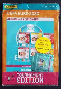 Panini UEFA EURO 2020 Tournament Edition Blue Starterpack / Album Israel