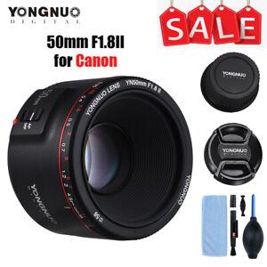 YONGNUO YN 50mm F1.8 II AF MF Full-frame Lens for Canon Camera