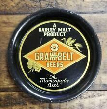 GRAIN BELT GOLDEN BEERS TIP TRAY THE MINNEAPOLIS BEER BARLEY MALT PRODUCT 1930s