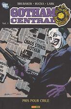 GOTHAM CENTRAL vol 1 PANINI comics Brubaker Rucka Lark DC HEROES