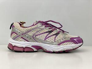 Karrimor Pace Dual Womens White And Purple Mesh Running Shoe Trainers UK Size 7