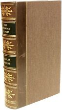 DICKENS - Posthumous Papers of The Pickwick Club - FIRST EDTION - Leather BOUND!