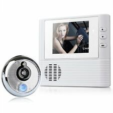 "New 2.8"" LCD Digital Peephole Viewer Door Eye Doorbell Video Color IR Camera 806"